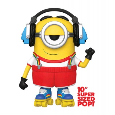 Roller Skating Stuart - Super Oversize 10' - Minions 2 (906) - Pop Movies