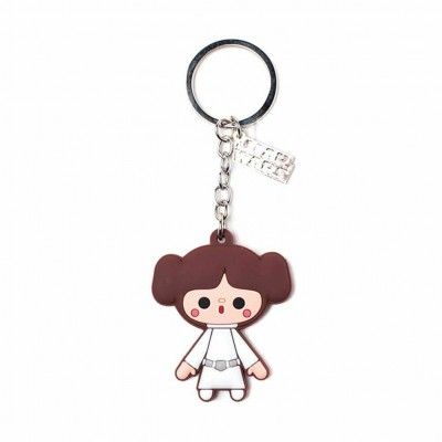 Porte-clef Rubber - Princess Leah - Star Wars