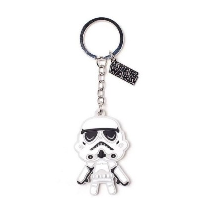 Porte-clef Rubber - Storm Trooper - Star Wars