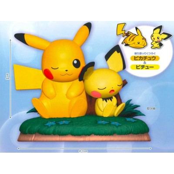 Pikachu et Pichu - Kutsurugi Time - Pokemon - Figurine - 11 x 7 cm
