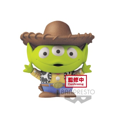 Alien (Woody vers.) - Fluffy Puffy MINE - Toy Story / Disney/Pixar - 4cm