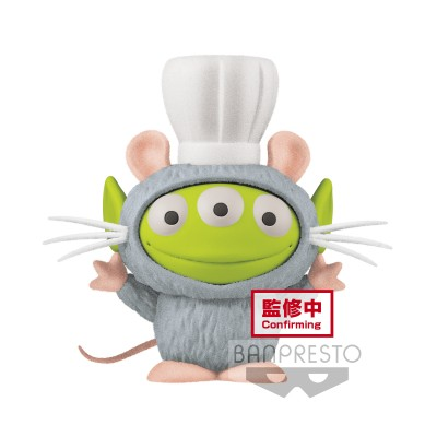 Alien (Remy vers.) - Fluffy Puffy MINE - Ratatouille / Disney/Pixar - 4cm