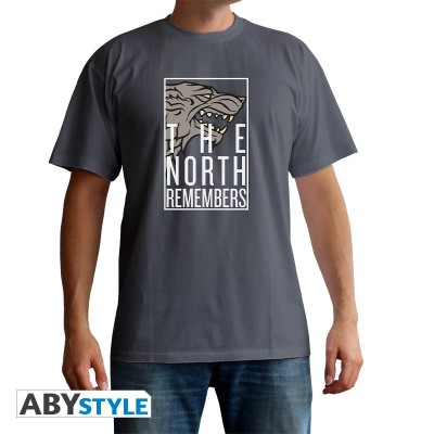 T-shirt - The North Remembers - Game of Thrones - XL
