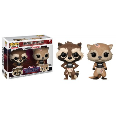 Rocket & Lylla - Gardiens de la Galaxie (pack de 2) - POP Marvel