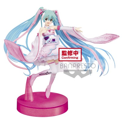 Hatsune Miku Racing (2019 Kimono Ver.) - Vocaloïd - Dress & Hair - 15cm