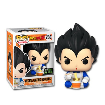 Vegeta Eating Noodles - Dragon Ball Z (758) - Pop Animation - Exclusive Comic-con