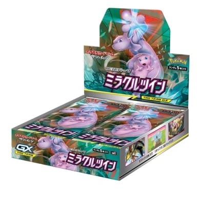 Pokemon - Expansion Card Miracle Twin - Boîte de 30