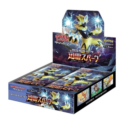 Pokemon - Expansion Card Cho Jinrai Spark - Boîte de 30