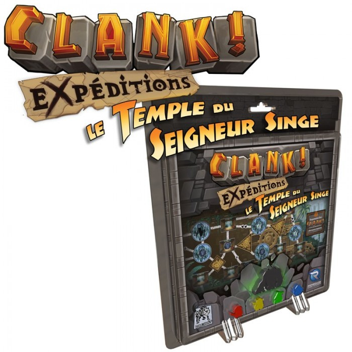 "Clank - Expeditions - ""Le Temple du Seigneur Singe"" - Extension - Jeu de plateau"