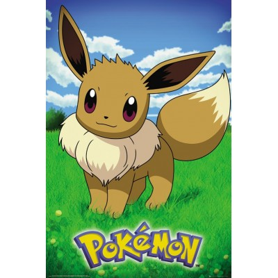Poster - Pokemon - Pokemon Evoli (61x91.5CM)