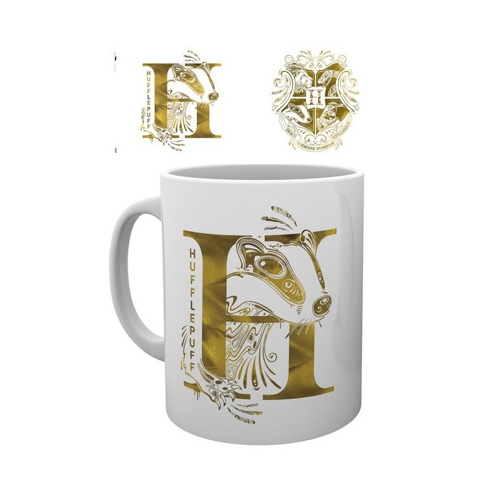 "Mug - ""Poufsouffle"" - Monogramme - Harry Potter"