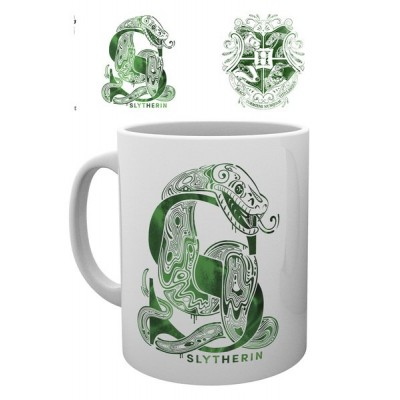 "Mug - ""Serpentard"" - Monogramme - Harry Potter"