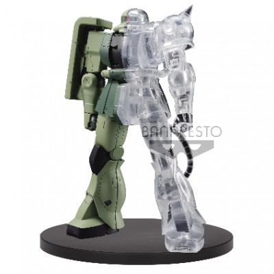 Mobile Suit Gundam Internal Structure MS-06F ZAKU II (moitié transparent) - Gundam - 14cm