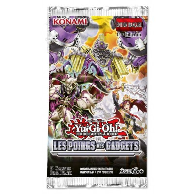 JCC - Boosters sous blister - Les Poings des Gadgets - Yu-Gi-Oh! (FR) (20 boosters)