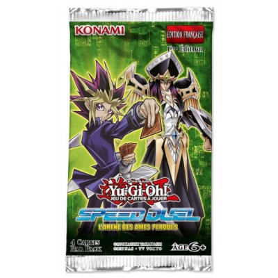 "JCC - Booster sous blister Speed Duel ""L'Arène des Âmes Perdue"" - Yu-Gi-Oh! (FR) (12 boosters)"