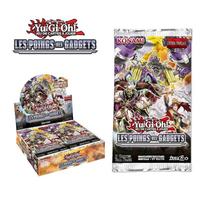 "JCC - Booster ""Les Poings des Gadgets"" - Yu-Gi-Oh! (FR) (24 boosters)"
