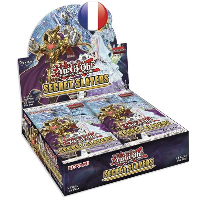 "JCC - Booster ""Booster Les Assassins Secrets"" - Yu-Gi-Oh! (FR) (24 boosters)"