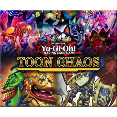"""JCC - Booster """"Chaos Toon"""" - Yu-Gi-Oh! (FR) (24 boosters)"""