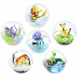Pokemon - Terrarium Collection 5 - (collection complète de 6 figurines)