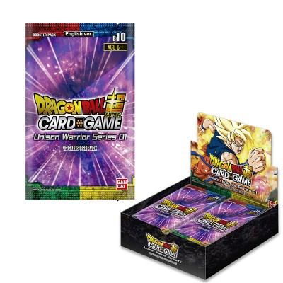 "JCC - Booster ""Unison Warrior Serie 01"" B10 - Dragon Ball Super Serie 10 (FR) - (24 boosters)"
