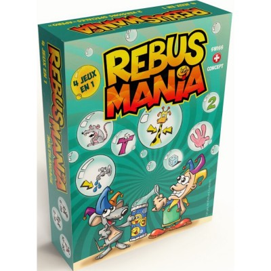 Rebus Mania - FR / DE / ANG / IT / PR - 4 jeux en 1