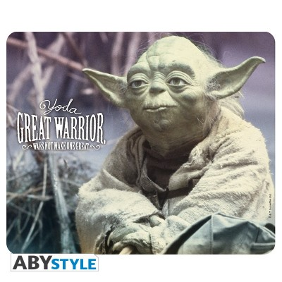 Tapis de Souris - Yoda great warrior - Star Wars