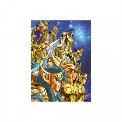 Poster - Saint Seiya - Chevaliers d'Or (52x38)