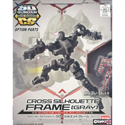 Maquette - Cross Silhouette Frame [Gris] - Gundam