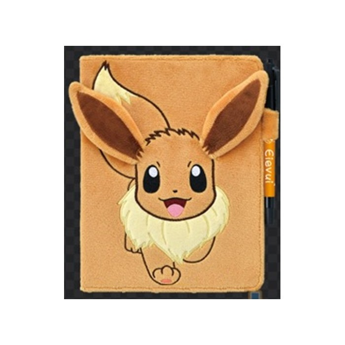 Carnet de Notes - Évoli Fluffy - Pokemon