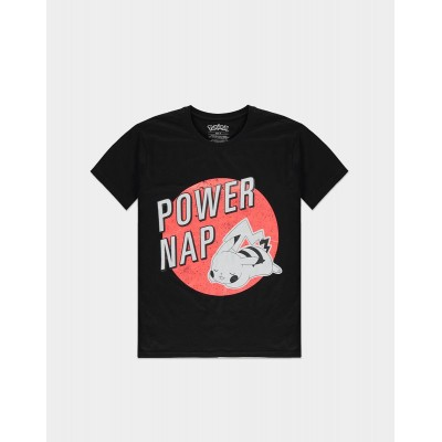 T-shirt - Power of Nap - Pokemon - Pikachu