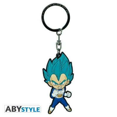Porte-Clef PVC - Vegeta Saiyan Bleu - Dragon Ball Super