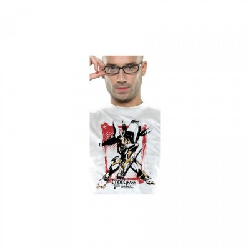 T-shirt Neko - Lancelot - Code Geass - S