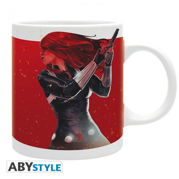 Mug - Black Widow enflammée - Marvel