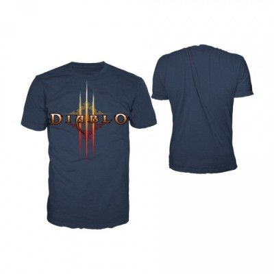 T-shirt BioWorld - Diablo Blue Logo - M
