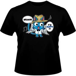 T-shirt Neko - Kon - Bleach - S