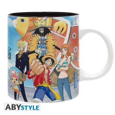 Mug - One Piece - Luffy's crew