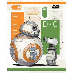 Mini Poster - BB-8 and D-0 - Star Wars