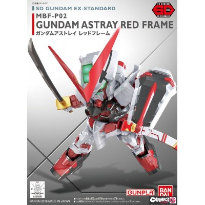 Maquette - SD - Astray Red Frame - Gundam