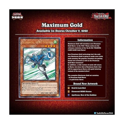JCC - Coffret Gold Maximum - Yu-Gi-Oh! DE