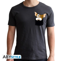 T-shirt - Gremlins - Pocket Gizmo - S Homme