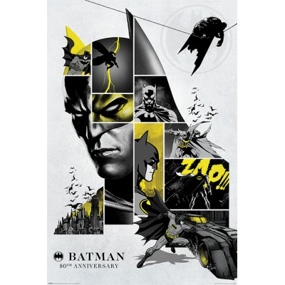 Maxi Poster - 80th Anniversary - Batman