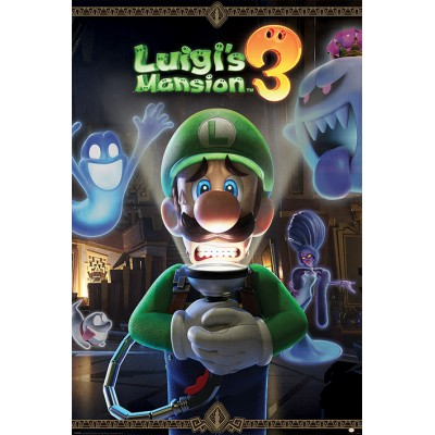 Maxi Poster - You're in for a Fright - Luigi's Mansion 3
