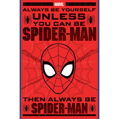 Maxi Poster - Always Be Yourself - Spiderman