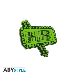 Pin's - Beetlejuice Panneau vert