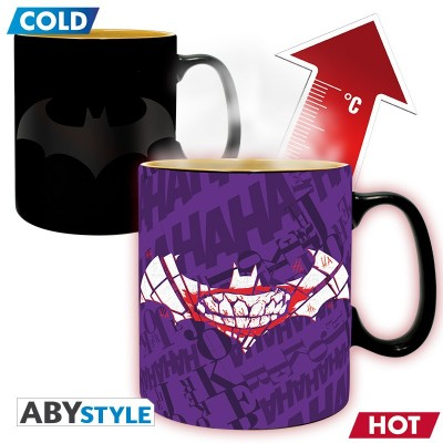 Mug Thermo Réactif - Batman Mat - DC Comics