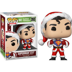 Superman w/ Sweater - DC Comics Holiday (353) - POP DC Comics