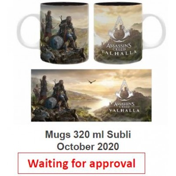 Mug - Assassin's Creed - Paysage Valhalla - Subli