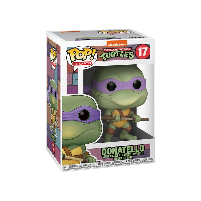 Donatello - Les Tortues Ninja (17) - Pop Vinyl