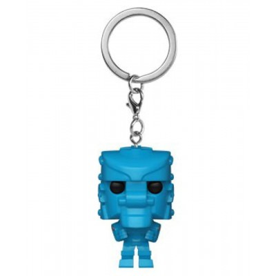 Rock 'Em Sock 'Em Robot (Blue) - Mattel - Pocket POP Keychain