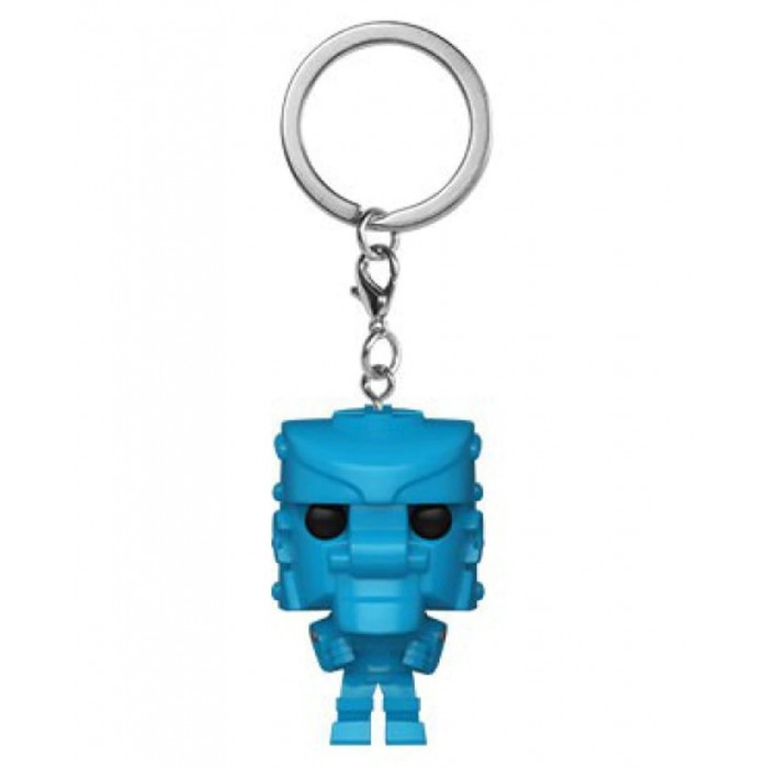 Rock 'Em Sock 'Em Robot (Blue) - Mattel - Pocket POP Keychain